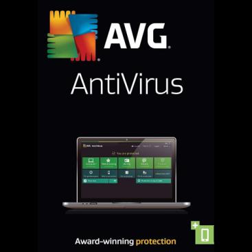 AVG AntiVirus - 1-Year / 3-PC - Global (KEYCODE)