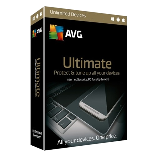 AVG Ultimate - 2 Years / Unlimited Devices - Global