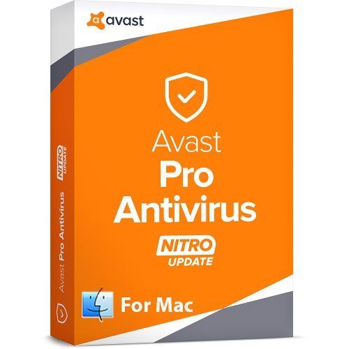 Avast Pro Antivirus for Mac - 1 Year / 1 Mac