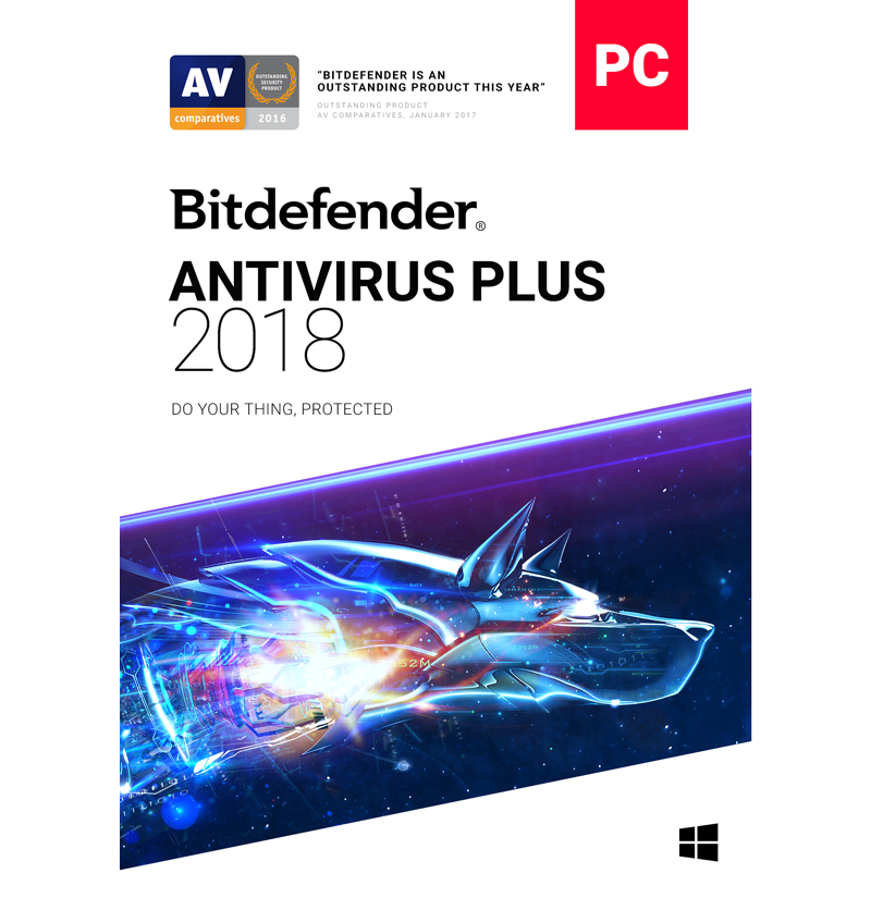 Bitdefender Antivirus Plus - 1-Year / 3-PC [KEYCODE]
