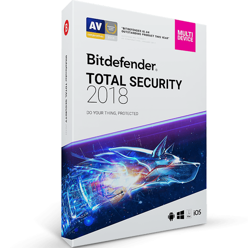 Bitdefender Total Security - 1-Year / 10-Device [KEYCODE]