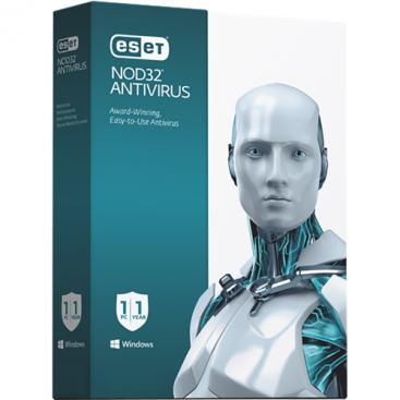 ESET - NOD32 Antivirus Home - 1-Year / 3-Seat - North America [KEYCODE]