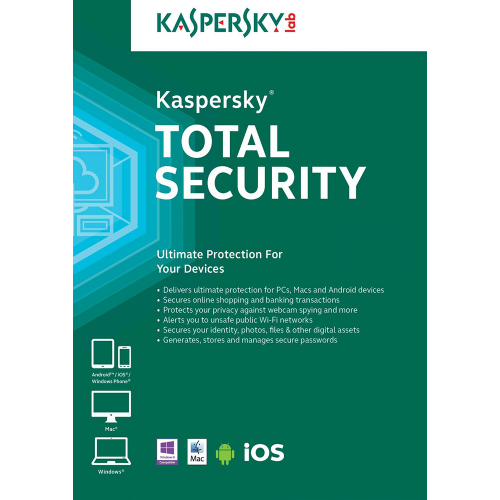 Kaspersky Total Security 2019 - 1-Year / 10-Device