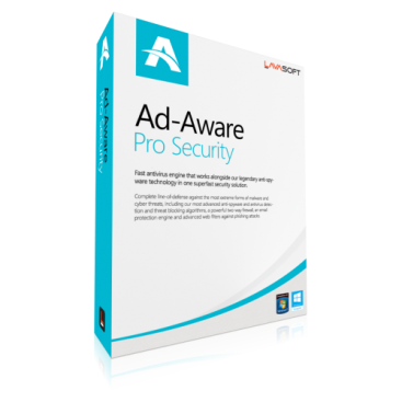 Lavasoft Ad-Aware Pro Security - 1-Year / 3-PC [KEYCODE]