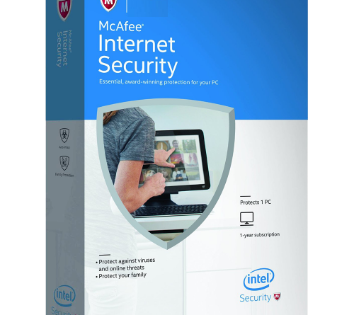 McAfee Internet Security - 1-Year / Unlimited PC- Global