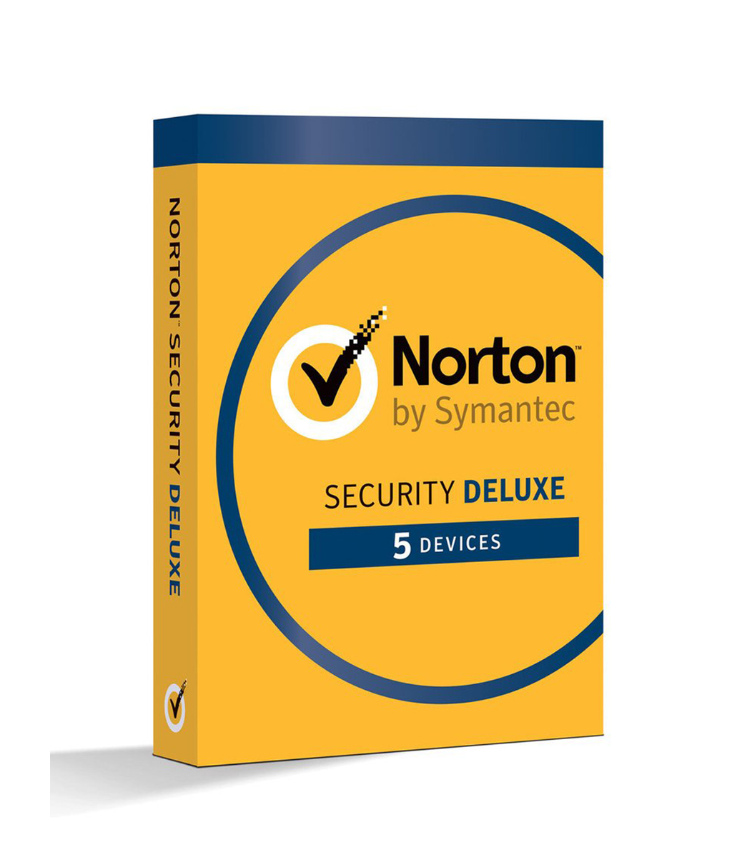 Norton Security Deluxe - 1-Year / 5-Device - North America