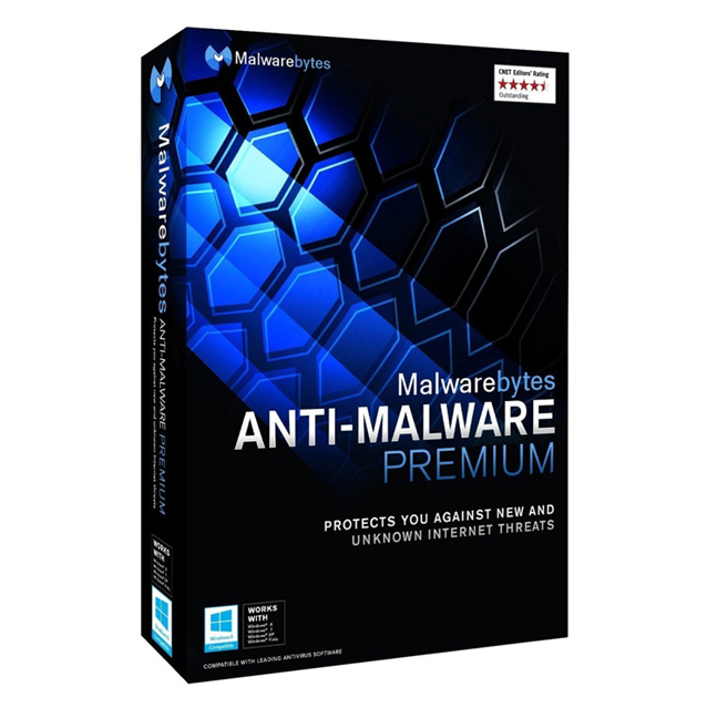 Malwarebytes Anti-malware Premium 3 PC 1 Year [KEYCODE]
