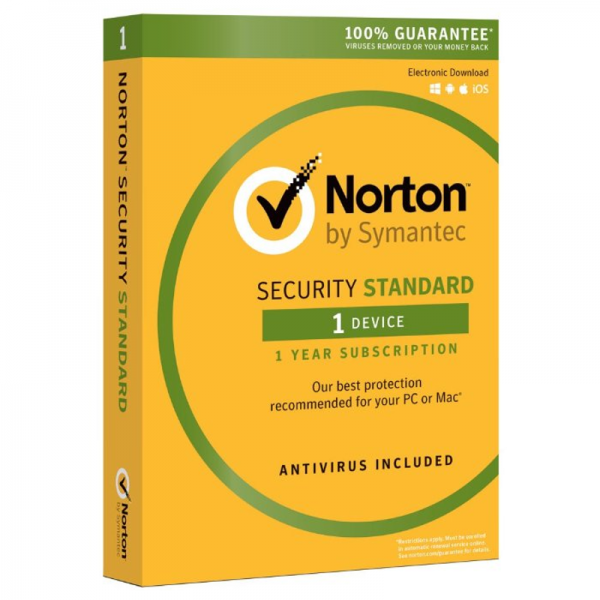 Norton Security Standard - 1 Year / 1 Device