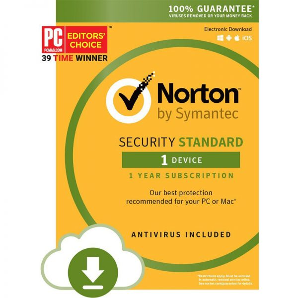 Norton Security Standard - 1 Year / 1 Device Download
